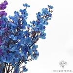 Centre de Table de Mariage Original Bleu | Bouquet Artificiel | Magnolias Artificielles | Bouqueternel