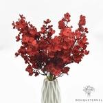 Centre de Table de Mariage Original Rouge | Bouquet Artificiel | Magnolias Artificielles | Bouqueternel