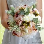 Bouquet de Mariée de Pivoine Vintage | Bouquet Artificiel | Pivoines Artificielles | Bouqueternel