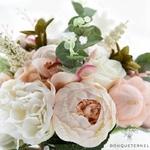 Bouquet de Mariée Pivoine thème Vintage | Bouquet Artificiel | Pivoines Artificielles | Bouqueternel