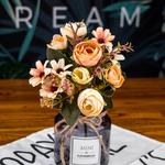 Décoration de Table Mariage Chic Bouquet Artificiel Bouqueternel