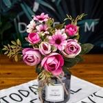 Décoration de Table Mariage Chic Bouquets Artificiels Bouqueternel
