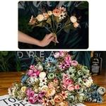 Bouquet de Fleurs Artificielles Décoration de Table Mariage Chic Bouqueternel