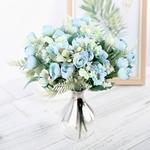 Bouquet de Fleur Artificielle pour Voiture Mariage Pivoine Artificielle Bouqueternel