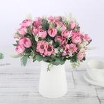 Bouquet de Pivoine Artificielle Fleur Artificielle pour Voiture Mariage Bouqueternel