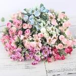 Bouquet de Pivoines Artificielles Fleurs Artificielles pour Voiture Mariage Bouqueternel