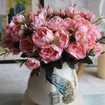 Fleurs Artificielles Extérieur Pivoine Artificielle Bouqueternel