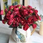 Pivoine Artificielle Fleurs Artificielles Extérieur Bouqueternel