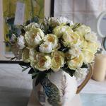 Bouquet de Fleurs Artificielles Extérieur Pivoine Artificielle Bouqueternel