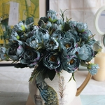 Pivoine Artificielle Bouquet de Fleurs Artificielles Extérieur Bouqueternel