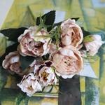 Pivoines Artificielles Fleurs Artificielles Extérieur Bouqueternel