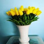 Bouquet Artificiel Tulipe Artificielle Bouqueternel