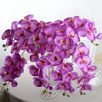 Bouquet Artificiel de Fleurs Artificielles dOrchidées Artificielles Haut de Gamme Bouqueternel