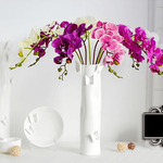 Bouquet Artificiel Fleurs Artificielles Orchidées Artificielles Haut de Gamme Bouqueternel