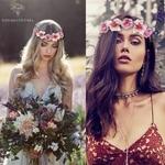 Couronne de Fleurs Mariage Présentation Émilie et Laura Bouqueternel