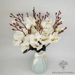 Bouquet Magnolia Soulangeana à Grandes Fleurs | Bouquet Artificiel | Bouqueternel