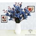 Bouquet Magnolia Soulangeana à Grandes Fleurs Bleu | Bouquet Artificiel | Bouqueternel.jpg