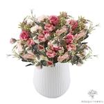 Composition Florale Moderne Rosaceae   Bouquet Artificiel   Bouqueternel