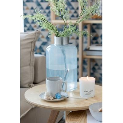 Vase bleu/gris