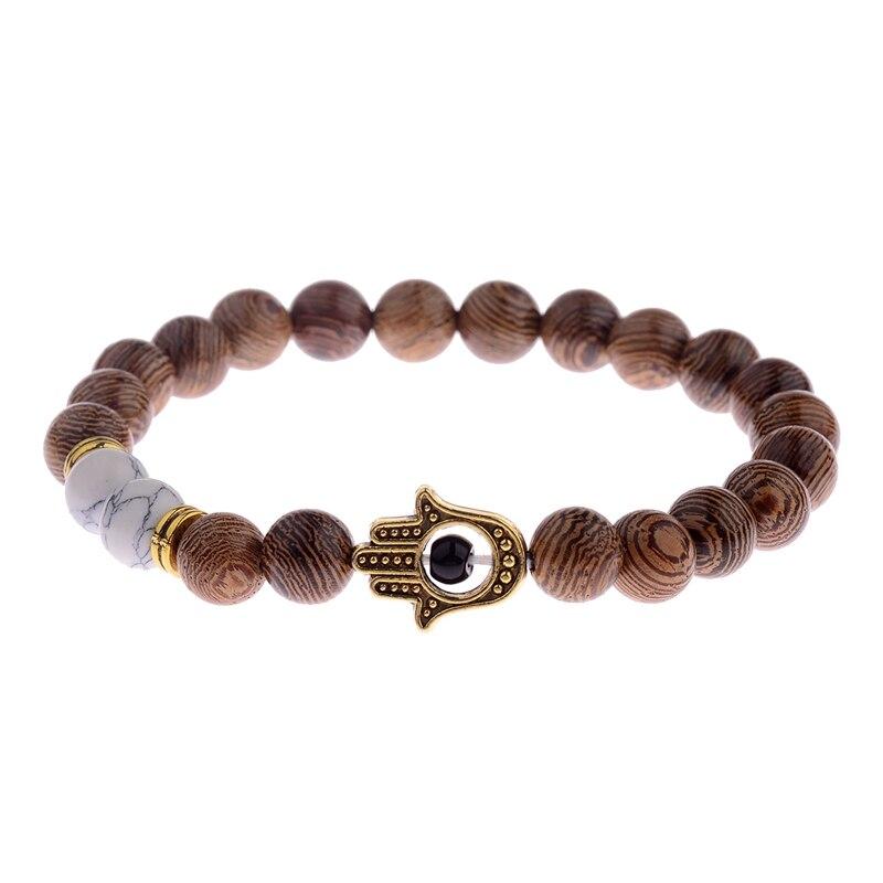 Bracelet Tibétain - Oeil Grec