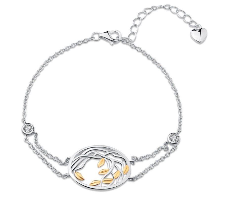 Bracelet Arbre de vie Argent - Stylisé