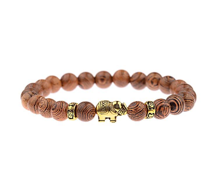 bracelet tibetain éléphant