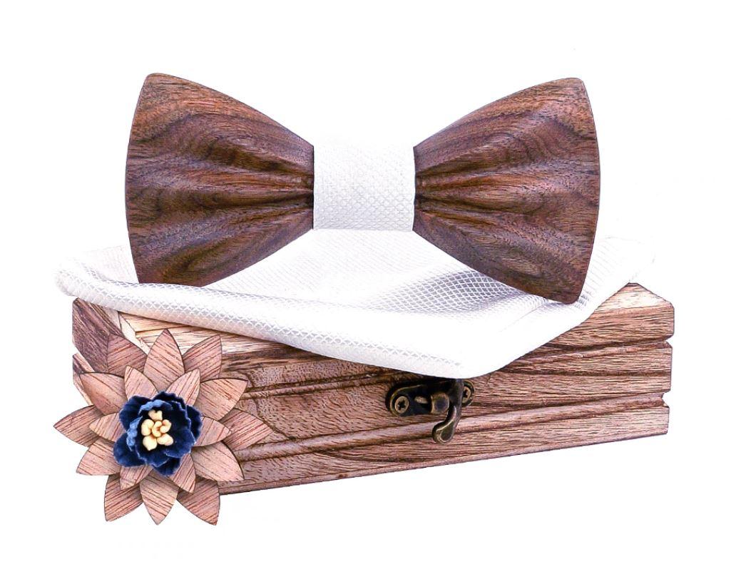 Nœud papillon bois - 3D