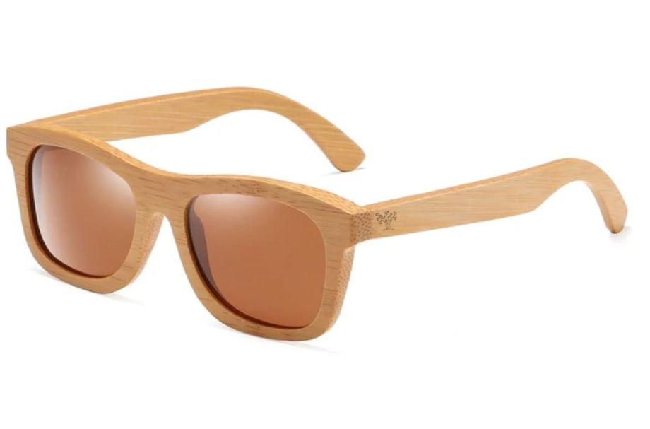 Lunettes en bois mixte - Intemporel 100% bambou
