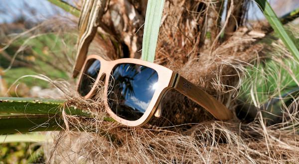 Lunettes bois bambou personnalisables