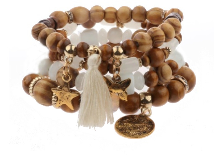 Bracelet multicouche Tibétain - Pulseira