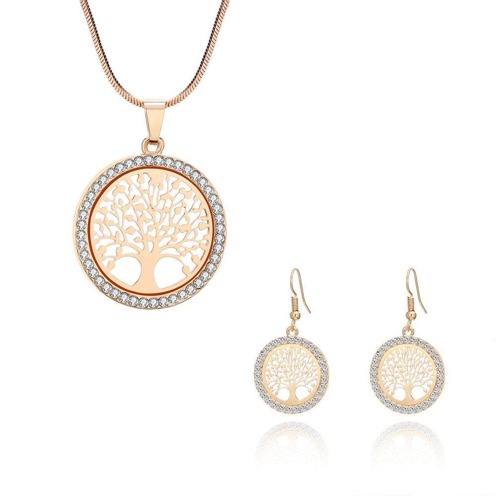 Parure bijoux Arbre de vie - Elégant