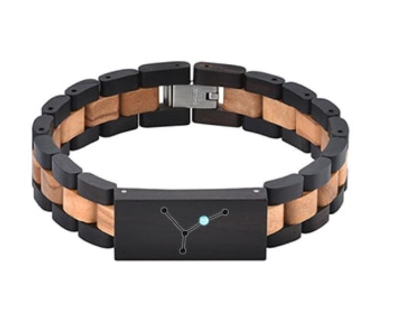 Bracelet bois personnalisé - Zodiaque