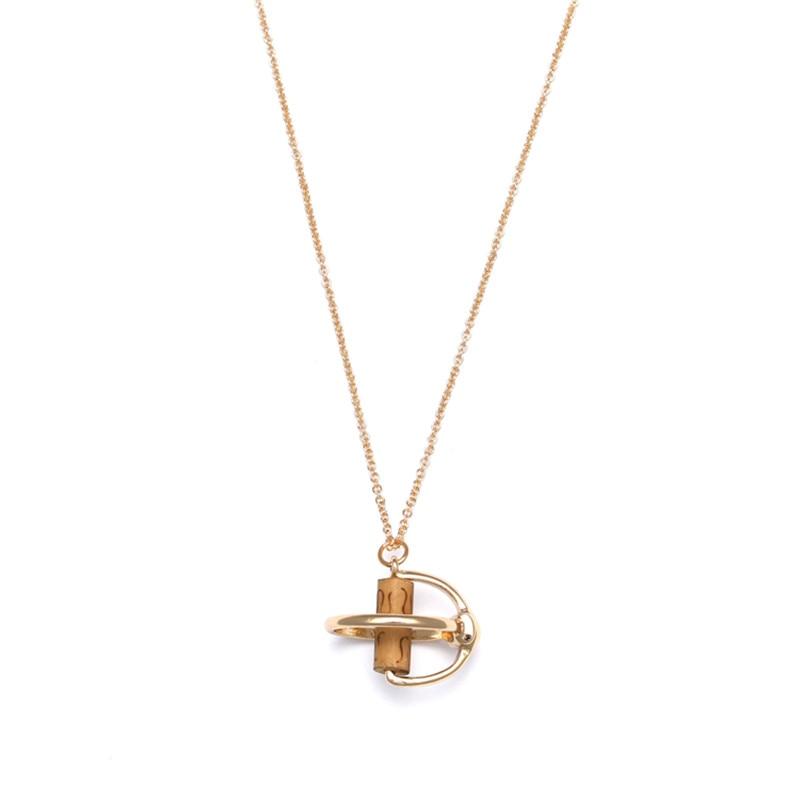 Livraison-gratuite-mode-dames-bijoux-le-nouveau-tube-de-perles-en-bois-avec-pendentif-en-m