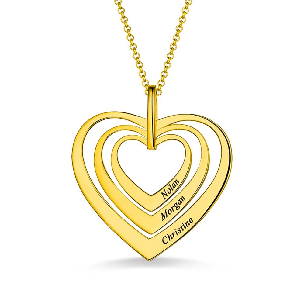 Collier-coeur-de-famille-grav-livraison-directe-argent-or-anniversaire-saint-valentin-pour-Ebay-Amazon