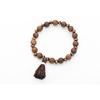 Perles-en-bois-naturel-sauvage-et-gratuit-Bracelets-et-Bracelets-bijoux-faits-la-main-unisexe-extensible