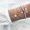 ensemble de bracelets arbre de vie bleu