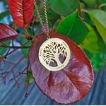 Collier arbre de vie prenom gravé or ou argent
