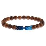 Bracelet perles de bois original homme ou femme