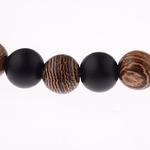 bracelet en bois type bouddhiste nature