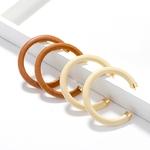 AENSOA-blanc-marron-couleur-Design-Unique-c-type-en-bois-cercle-boucles-d-oreilles-ethnique-g