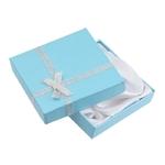 boite cadeau pour bijoux bleu clair