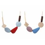 collier geometrique bois 3