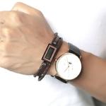 ZORCVENS-haute-qualit-hommes-femmes-bois-Bracelet-en-cuir-Bracelets-hommes-femmes-Punk-Bracelets-en-cuir