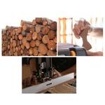 Noeud papillon bois fabrication
