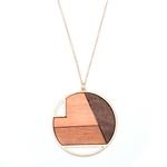 sautoir bois pendentif-long-collier trio