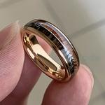 8-6mm-mode-or-Rose-carbure-de-tungst-ne-bois-anneaux-femmes-hommes-classique-argent-bande