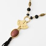 Chaud-t-noir-bois-perle-multicouche-collier-femmes-or-lien-cha-ne-en-pierre-naturelle-daim