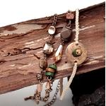 bracelet bois vintage 2