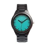BOBO-oiseau-bois-montre-bleu-visage-Quartz-mouvement-b-ne-bracelet-en-bois-hommes-montre-bracelet