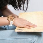 montre en bois femme personnalisable